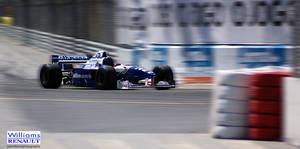 Williams F1 car at Porto