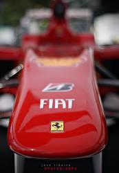 Alonso's Ferrari by zemetallica