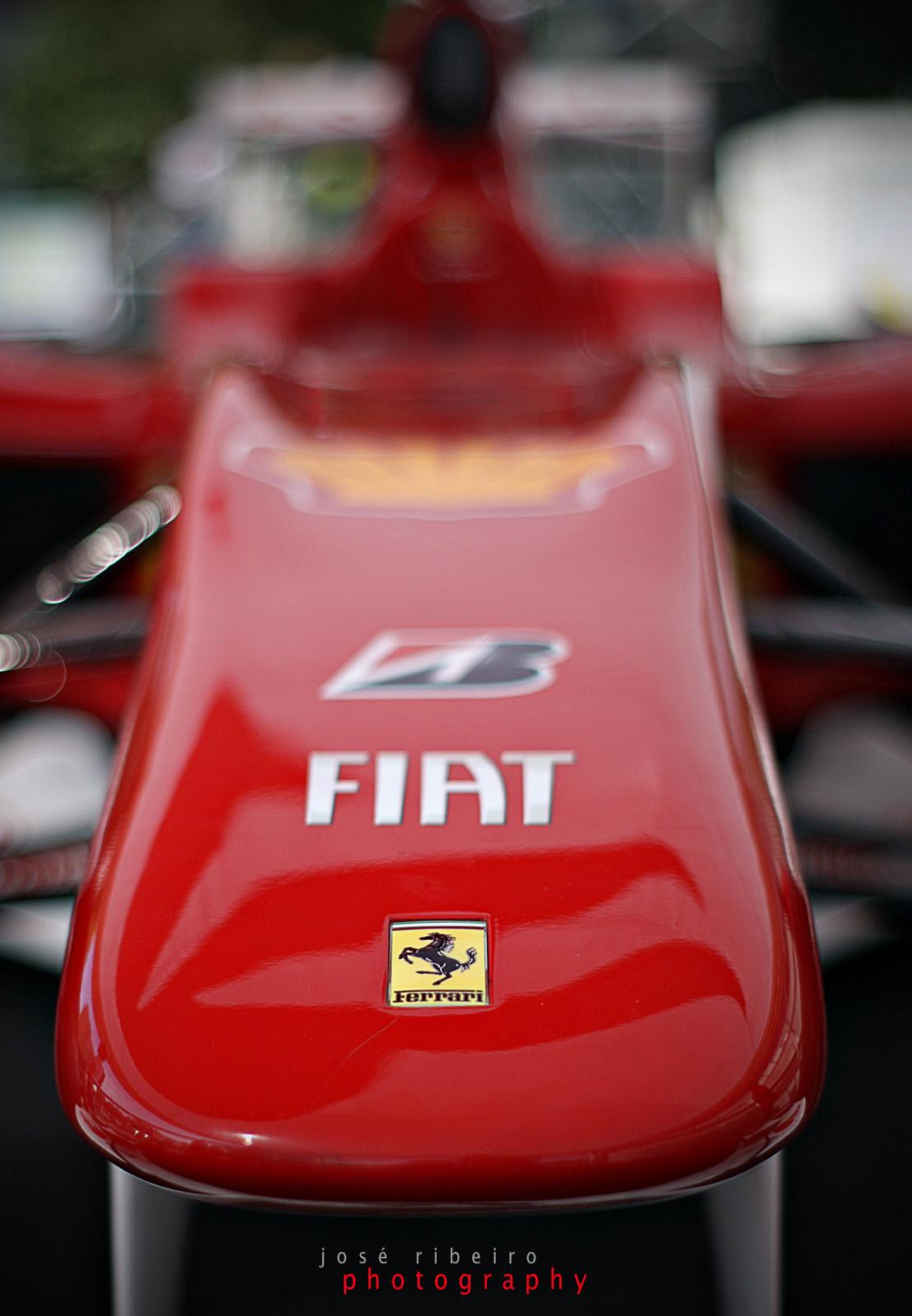 Alonso's Ferrari