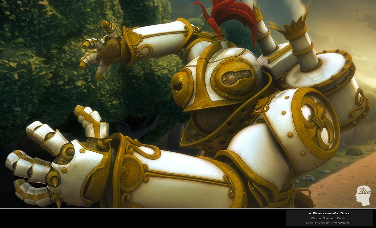 A Gentlemen's Duel Robot by cbutlerc