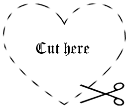 Tattoo Design - Cut Here by cosmospixelkitty