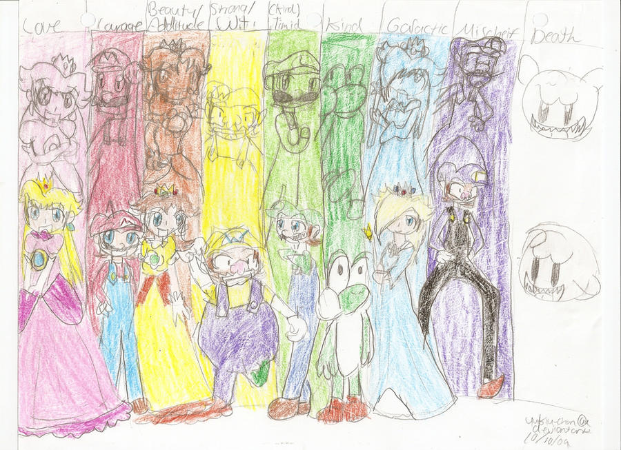 Mario- So colorful by Yukiu-chan
