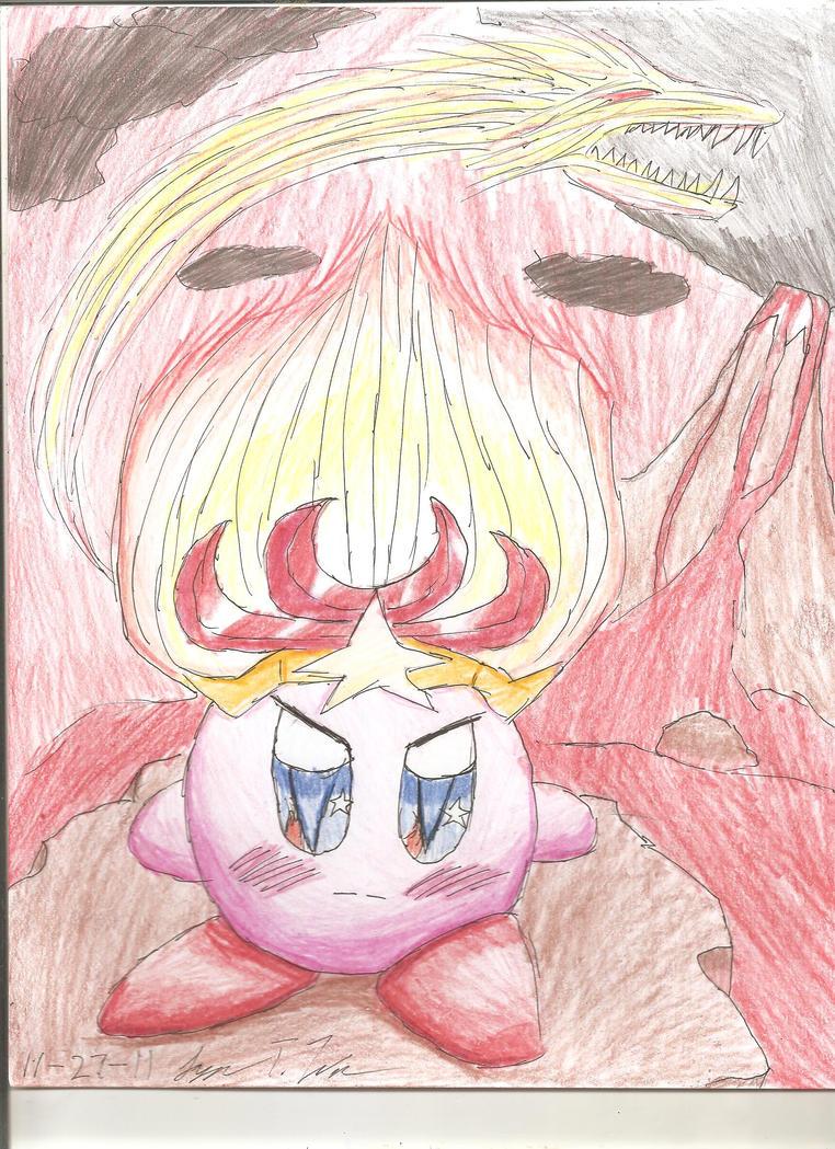 Monster Flame Kirby by Yukiu-chan