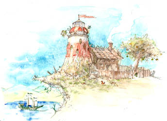 On the island of cats - Print Available! by DrManhattan-VA