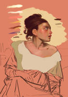 Study from Delacroix - Wip by DrManhattan-VA