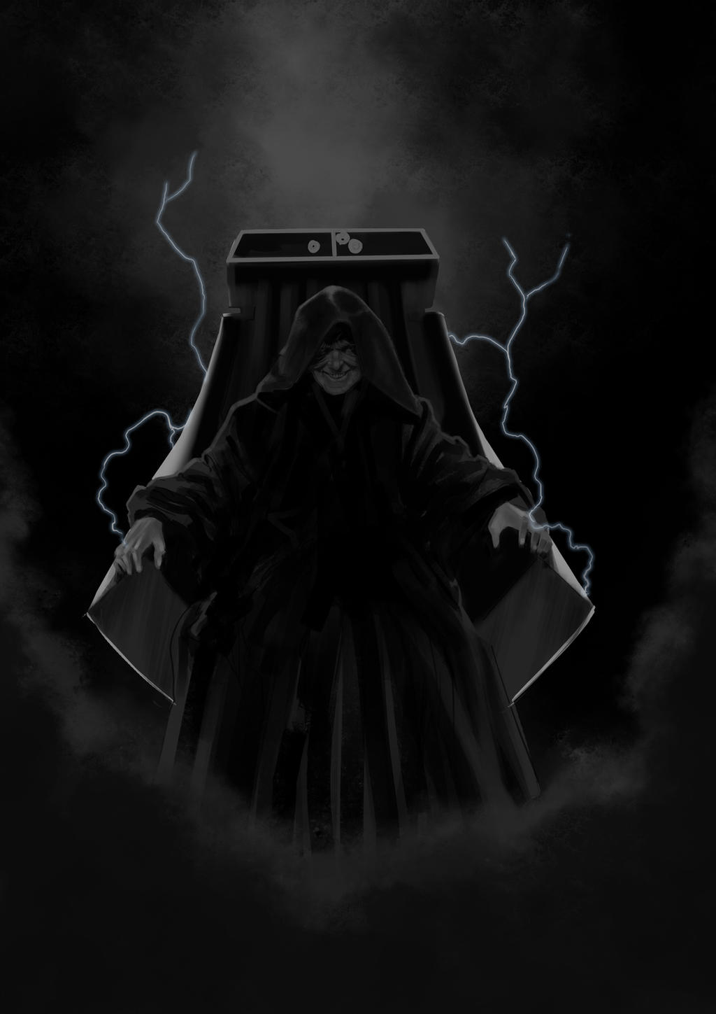 Star Wars Tribute Darth Sidious Wip By Drmanhattan Va