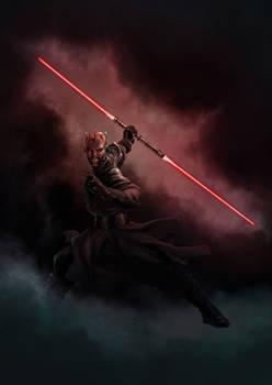 Star wars tribute: Darth Maul -