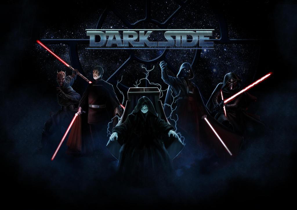 Star wars tribute: DARK SIDE by DrManhattan-VA