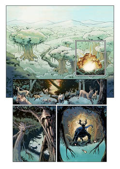 Mountain in the sky - Page 1 - Color