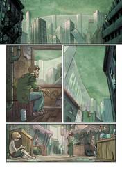 'Beyond the wall' Page 1