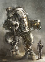 Mech concept and pilot by Director-16