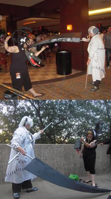 Medusa version 2.5 and Stein version 1.0 cosplays