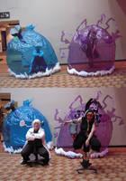 Medusa version 3.5 and Stein version 2.0 cosplays