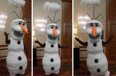 Olaf Frozen cosplay