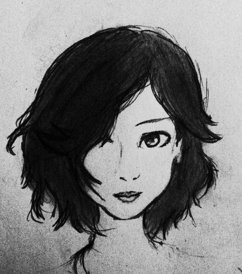 Simple and elegant by sanvero selverna on deviantart for Easy sketches of people