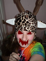 Giraffe Hat by ripplecloud