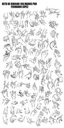 Reto 100 Manos /Challenge 100 hands