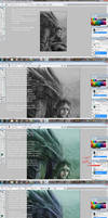 Grayscale-To-Color Method