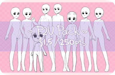 P2U Base Pack! ($1,5 / 200 pts) [OPEN] by sein-shir