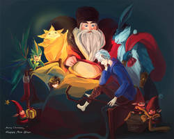 Rise of the Guardians by calahahaha