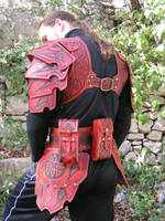 Celtic Hard Leather Armour by Bear-Crafter