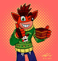 All I Wumpa Christmas Is You! by Nl-Rad