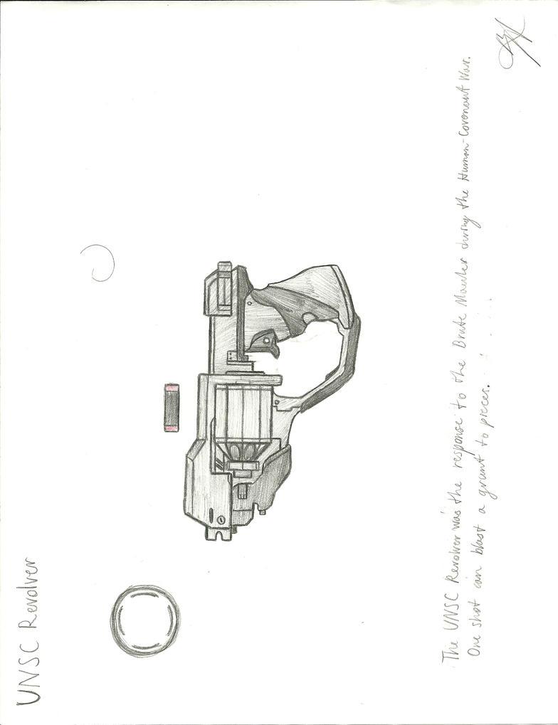 UNSC Revolver by Chigiri16