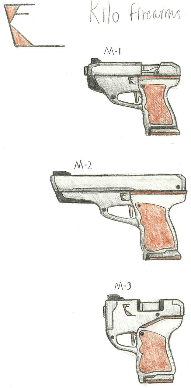 Kilo Firearms M1, M2, M3 by Chigiri16