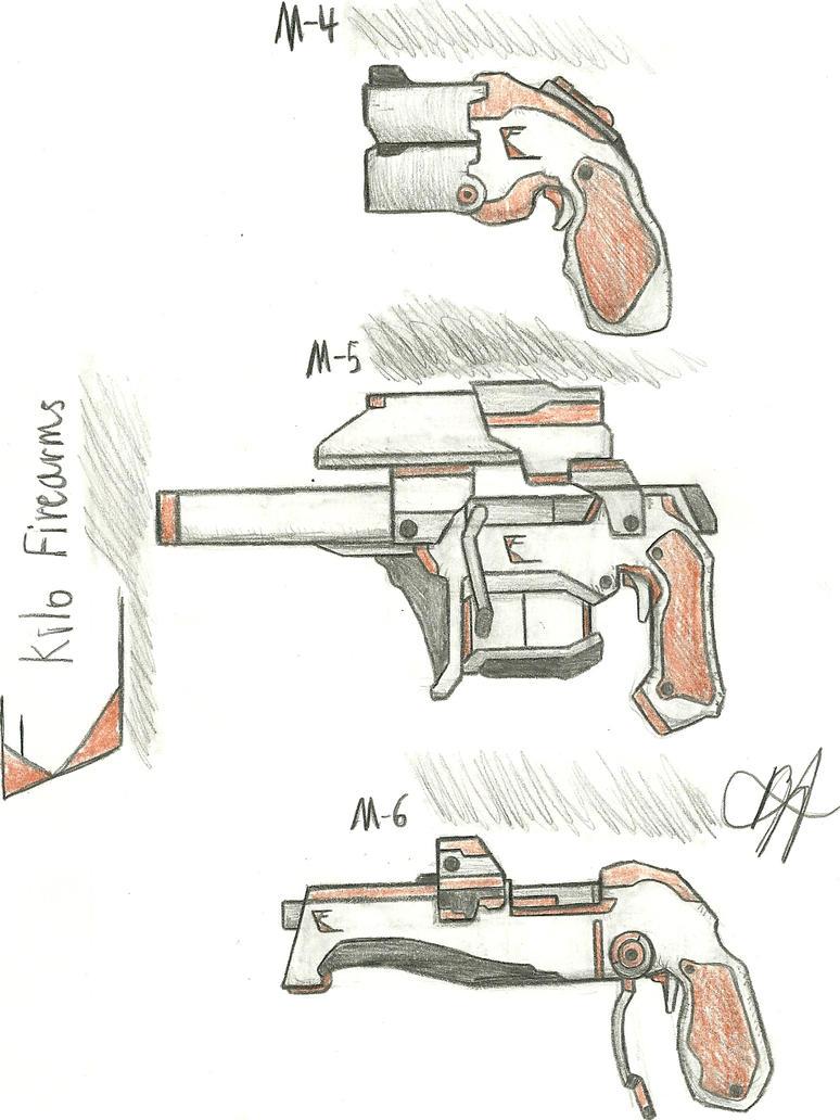 Kilo Firearms M4, M5, M6 by Chigiri16