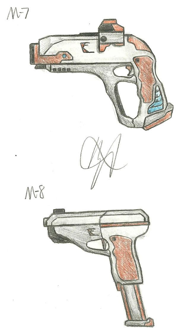 Kilo Firearms M7, M8 by Chigiri16