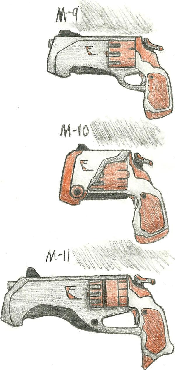 Kilo Firearms M9, M10, M11 by Chigiri16