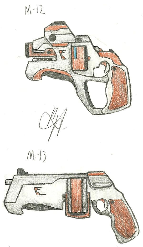 Kilo Firearms M12, M13 by Chigiri16
