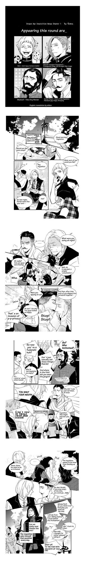 DA inquisition comic! by go-ma
