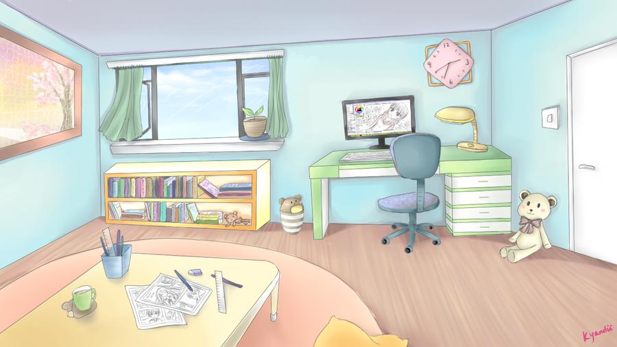 Room by ShiroKyandii