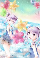 [OC] Twins2 by ShiraKyandii