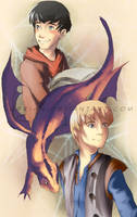 Merlin by Lubrian