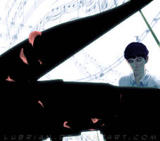 The Piano by Lubrian