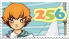 256 Postcards Ago Stamp by Lubrian