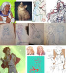 2018 Sketches and WIPs
