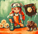 Grizzco Octoling