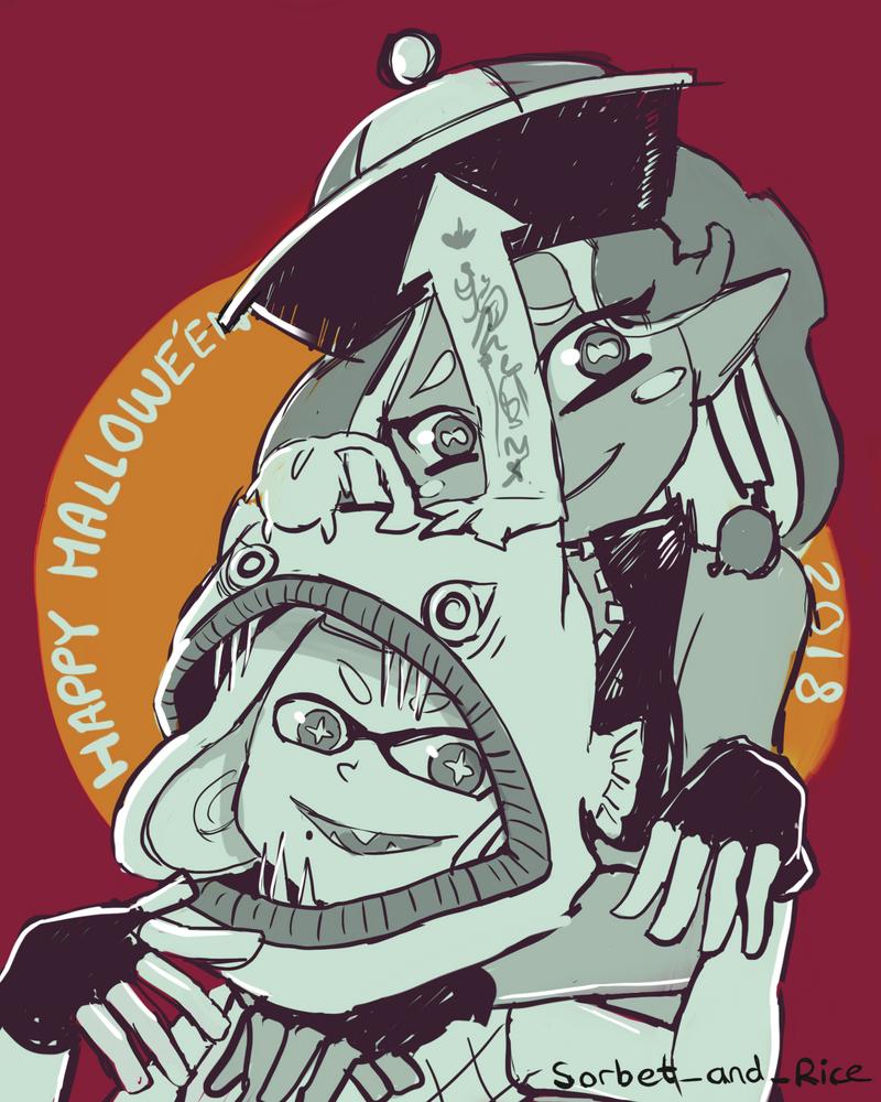 Happy Splatooween by Lubrian