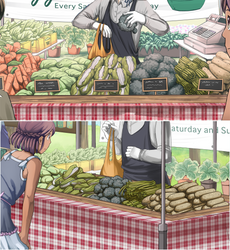 TMC - Vegetable closeups by Lubrian