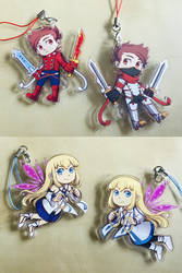 Double-sided Symphonia charms on sale now! by Lubrian