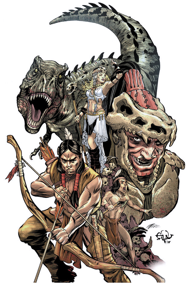 Turok Son Of Stone 1 Cover By Edufrancisco On Deviantart