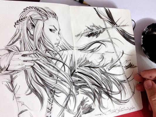 Sketch, Tauriel