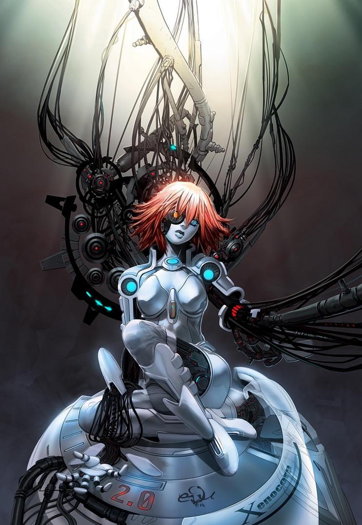 Scifi Body Paint Nude