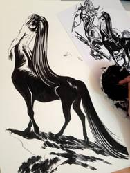 Centauress by eDufRancisco