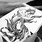 Mermaid, sketch