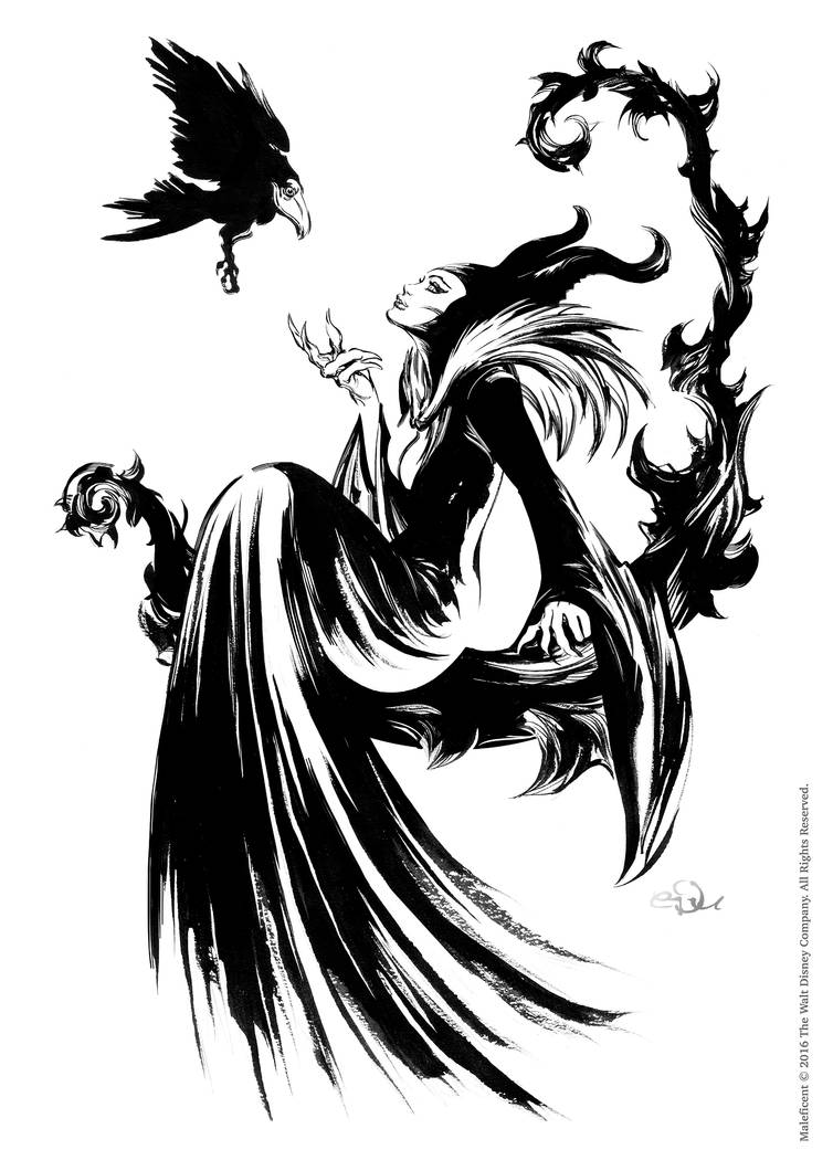 Maleficent By Edufrancisco On Deviantart