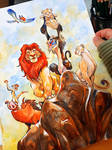 The Lion King, watercolor by eDufRancisco
